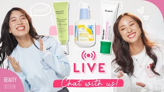 🔴MARCH LIVE: New Skincare Finds & Empties, Merch, Self-Care