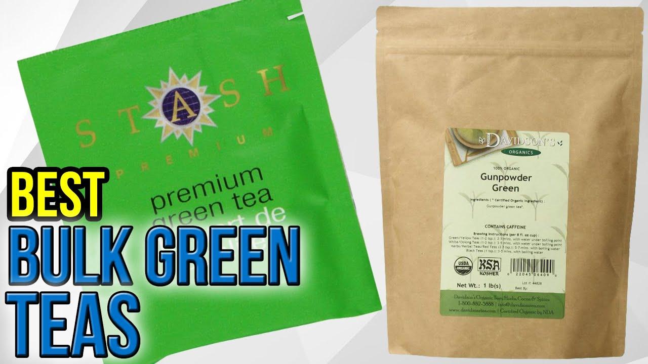 Bulk organic tea - 6 Best Bulk Green Teas 2017