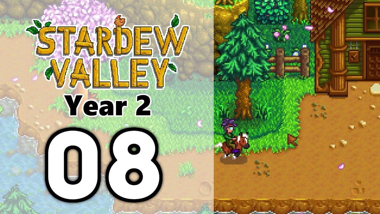 Stardew Valley  Year 2  EP08  Rewards from the Adventurer's Guild - YouTube