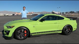 homepage tile video photo for The 2020 Shelby GT500 Is the Ultimate $100,000 Ford Mustang