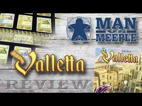 Valletta (Z-Man Games) Review by Man Vs Meeple