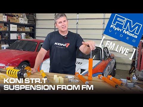 KONI STR.T Suspension from Flyin' Miata (FM Live)