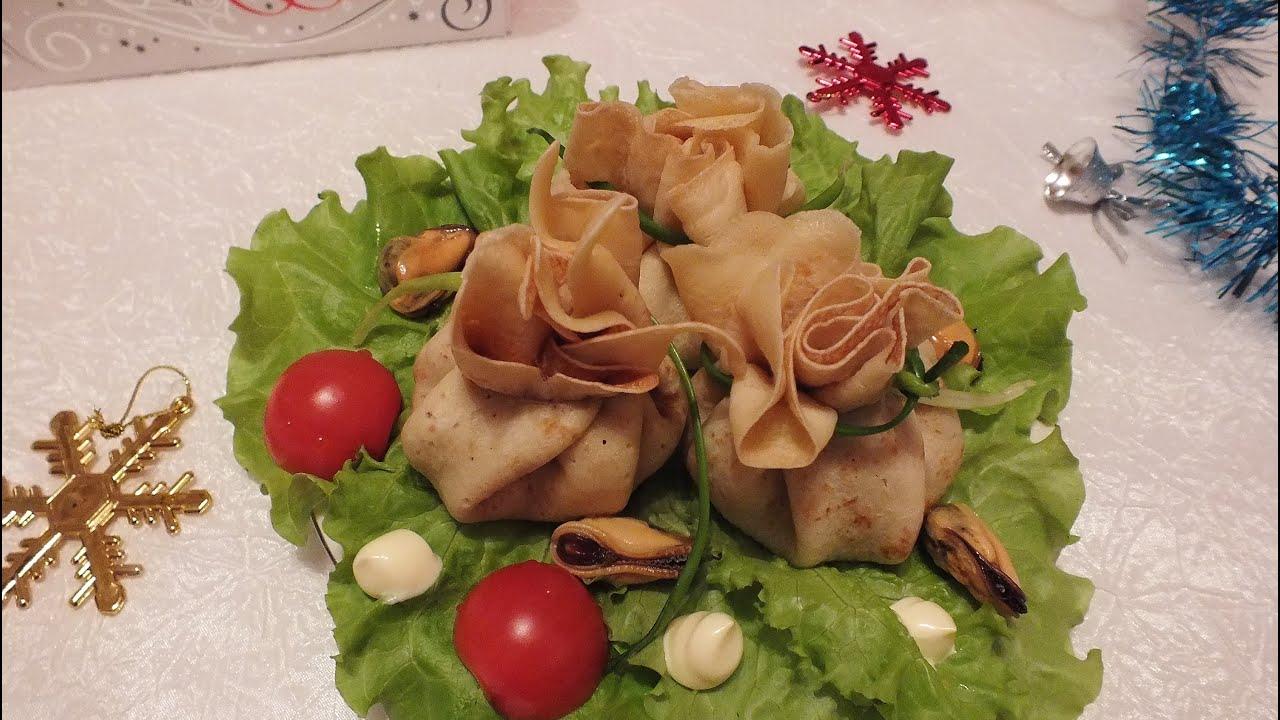 Рецепт фаршированных блинов мясом и грибами