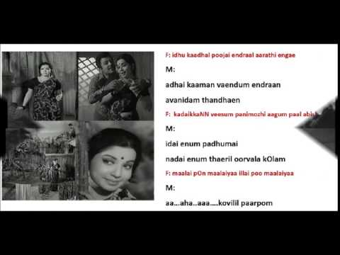 Iru Maangani pol idhazhoram -  Karaoke for Male Singers by H