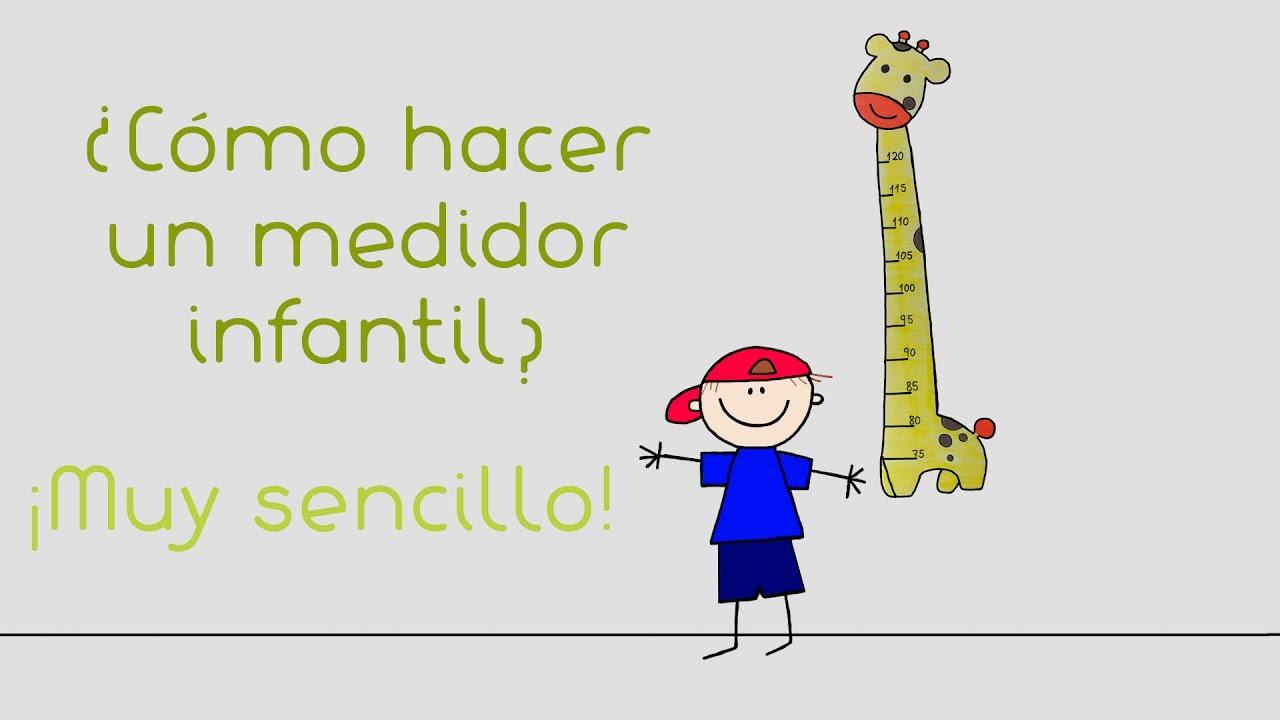 Como hacer un medidor infantil ec nomico y muy f cil - Medidor infantil imaginarium ...