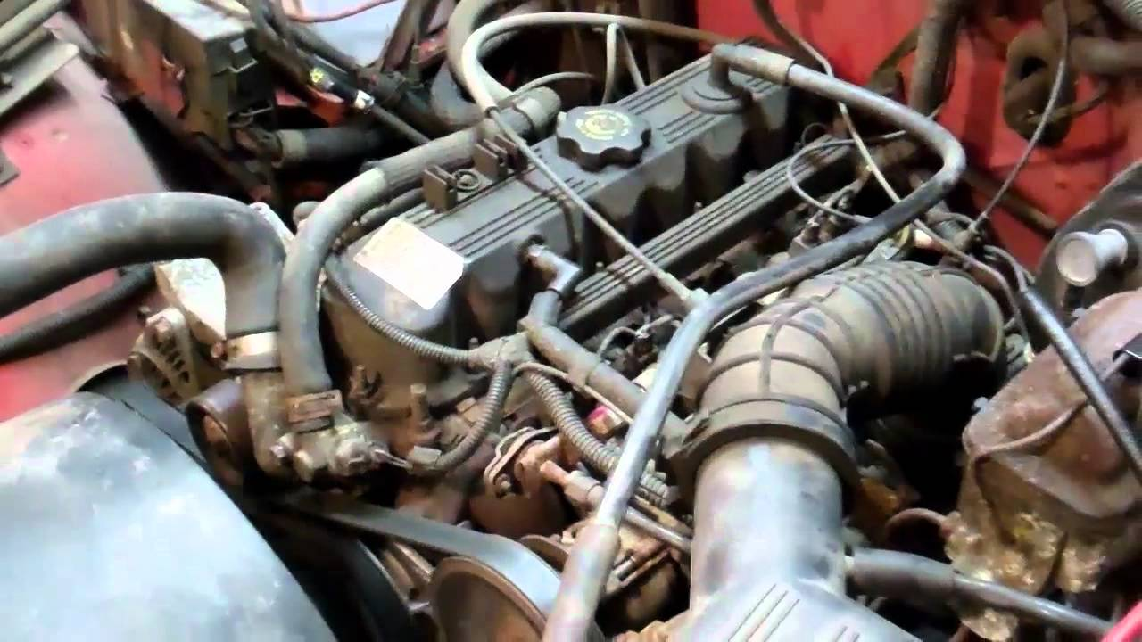 2003 Jeep Tj Wiring Diagram Jeep Wrangler Yj 2 5l Running Rough Youtube