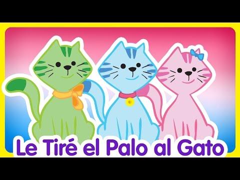 Le Tiré el Palo al Gato - Gallina Pintadita 2 - Oficial - Canciones infantiles para niños y bebés