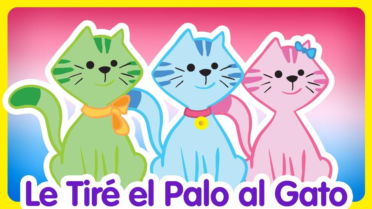 Le Tiré El Palo Al Gato Gallina Pintadita 2 Oficial Canciones Infantiles Para Niños Y Bebés