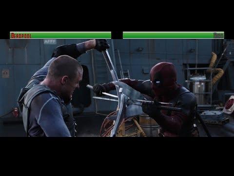 Deadpool vs Ajax...with healthbars