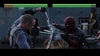 Deadpool vs Ajax...with healthbars