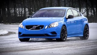 Snowdrift: Volvo S60 Polestar (with a bit of C63 AMG). And a drag race. - /CHRIS HARRIS ON CARS