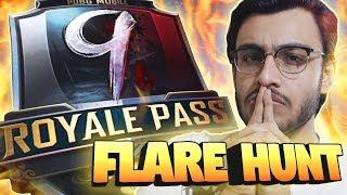 PUBG MOBILE LIVE: FLARE HUNTING & DESTINY 2   SEASON 9 ROYAL PASS RANK PUSH   NEW UPDATE   RAWKNEE