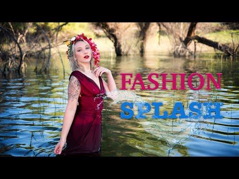 Beautiful models in the water - Fashion Splash 2019