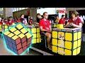 New York Teen Solves Rubik