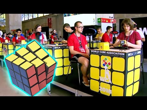 New York Teen Solves Rubik's Cube With Feet at Competition in Madrid Mp3
