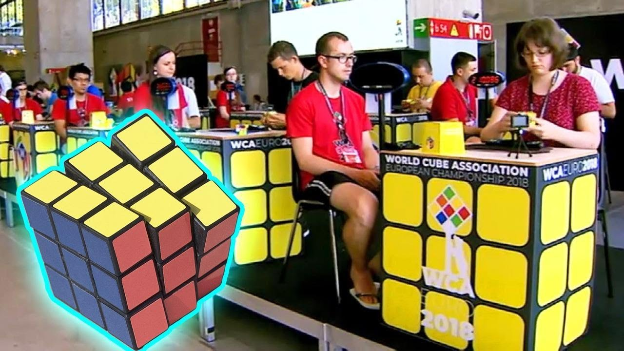 New York Teen Solves Rubik's Cube With Feet at Competition in Madrid