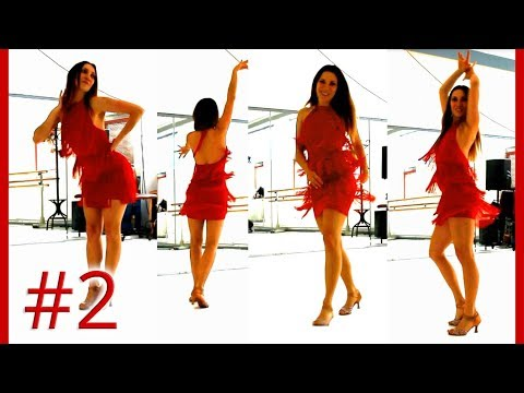 Salsa Lady Style - Routine #2 - Styling Lessons - Beginners & Intermediate - Corina Tripold
