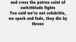 My Chemical Romance - Our Lady Of Sorrows ( lyrics )