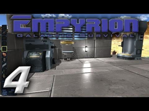 "Empyrion Galactic Survival Gameplay / Let's Play (S-1) -Ep. 4- ""Medic Station & Food Processor"""