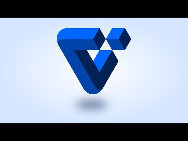 Impossible Triangle Logo - Inkscape Tutorial