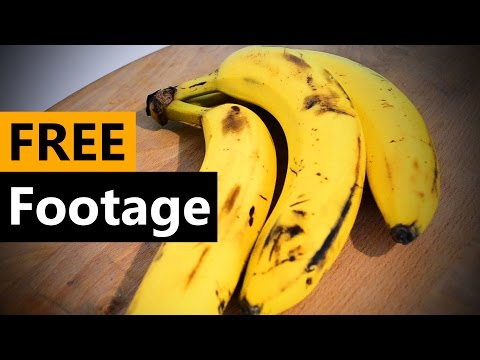 Banana - FREE Stock Video Footage [Download Full HD]