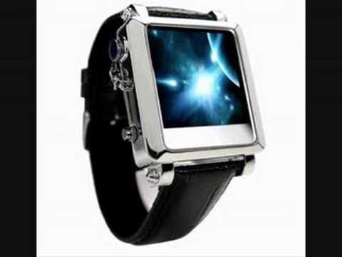 Milano:Stylish Dress Watch 1.5 Inch LCD MP4 Watch Player - 8GB