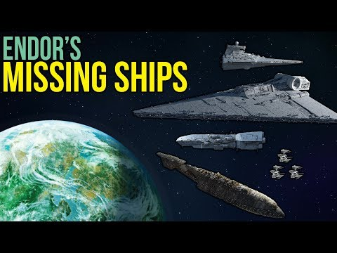 All Ships at the Battle of Endor not in Return of the Jedi | Star Wars Legends Lore