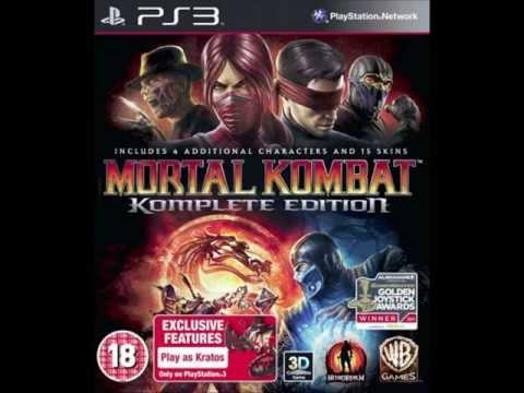 Mortal  Kombat 9  Komplete  Edition PS3  & Xbox  2012