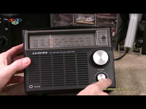 LLoyd's N-766 AM/FM/VHF Radio - Corp Overview, Radio Overview, Radio Test