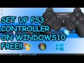 How To Connect PS3 Controller To Windows 10 8 1 OR 7 PC 2017 No Motionjoy mp3