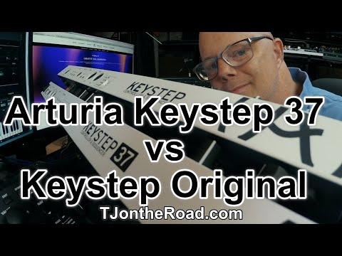Arturia Keystep 37 vs Keystep Original