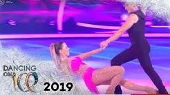 Nadine Klein bringt das Eis zu schmelzen: Sexy Kür mit viel Weiblichkeit | Dancing on Ice | SAT.1