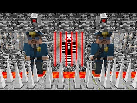 PUPPET GETS ARRESTED?! Minecraft FNAF Prison Escape