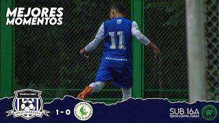 ARCO ZARAGOZA 1 - 0 Alianza Platanera   MEJORES MOMENTOS   LAF SUB 16A Primera Fase
