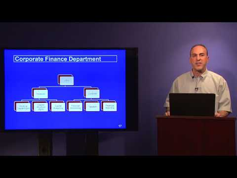 CPCU 540 Module 1 - Corporate Finance and Accounting