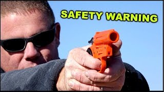 Live Shotgun Shell in flare pistol  - What happens? Mp3