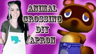 Animal Crossing Apron Diy For Under $10! No Sew!
