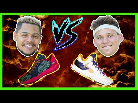 LAMELO + LONZO BALL SHOE WAGER V. JESSERTHELAZER DOUBLE OR NOTHING NBA 2K18