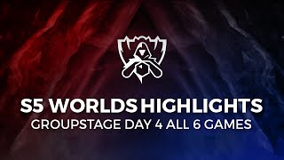 Day 4 Highlights S5 Lol World Championship All Kills From All Games