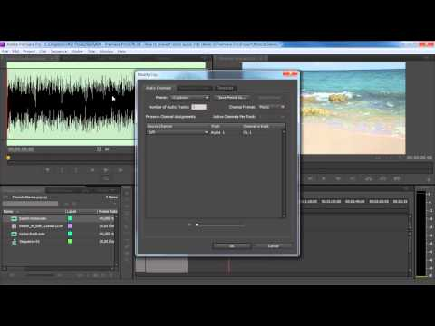 How to Convert Mono Audio into Stereo in Premiere Pro