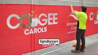 Fence Screens By Signs Banners Online