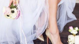 Свадебные платья и туфли фото