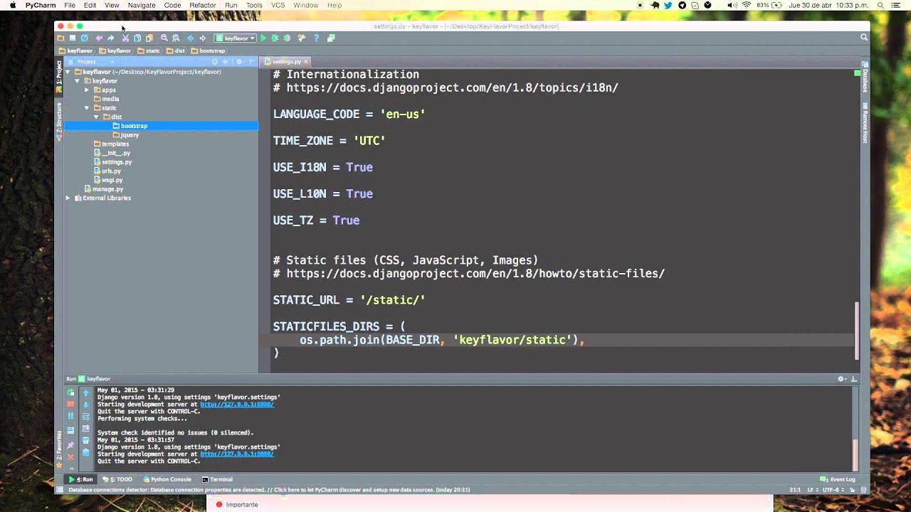 Tutorial 04 Django 1.8 [Configurando StaticFiles] - YouTube