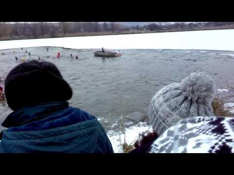 Winter swimming Báger Partizánske 28.12.2014