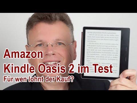 Amazon Kindle Oasis 2 im Test - Was kann der neue E-Reader?