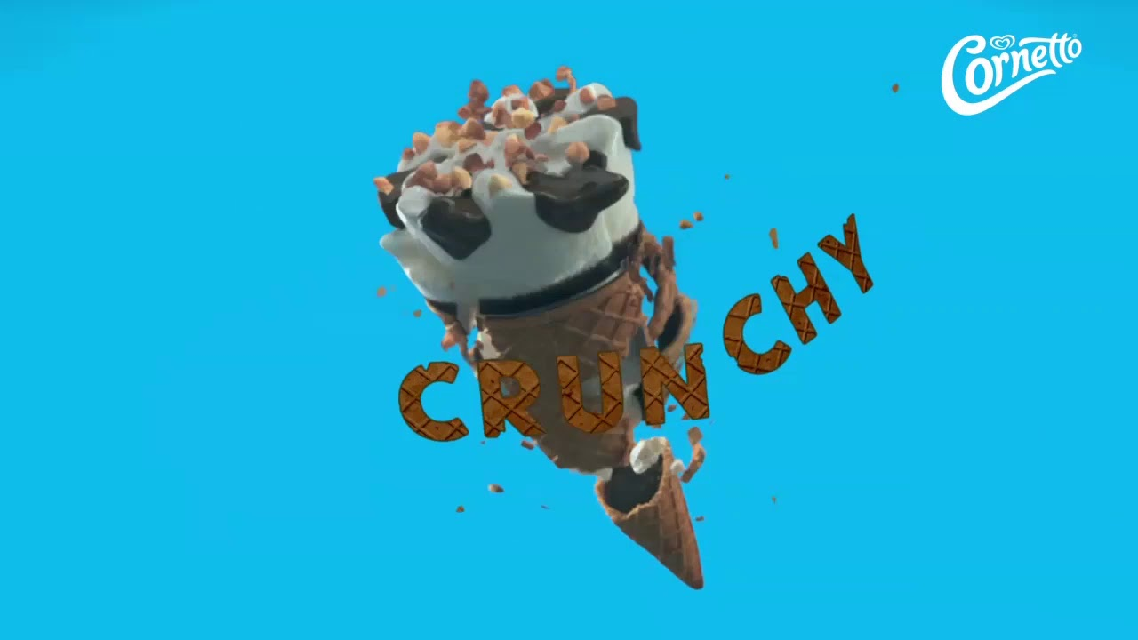 There's Just One... Crunchy Cornetto
