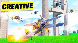FORTNITE CREATIVE MODE 16-PLAYER PLANE WARS GAMEMODE! (8v8 Minigame)