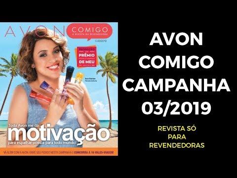 AVON COMIGO CAMPANHA 03/2018 | Bela Representante
