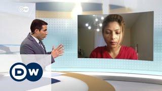 انصاف حيدر متفائلة باففراج عن زوجها بعد حصوله على جائزة سخاروف   الأخبار