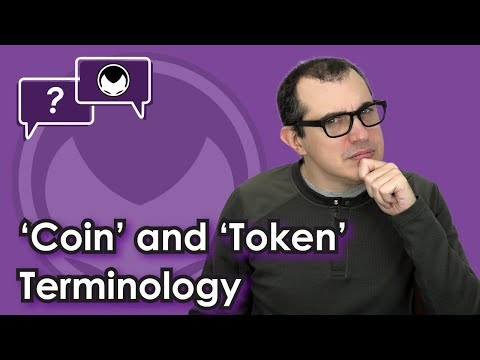 Ethereum Q&A: 'Coin' and 'token' terminology